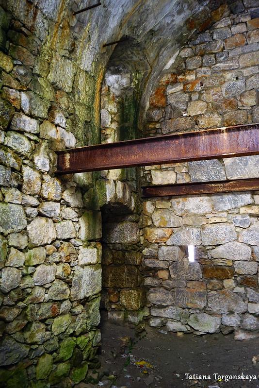 Внутри крепости Зворника