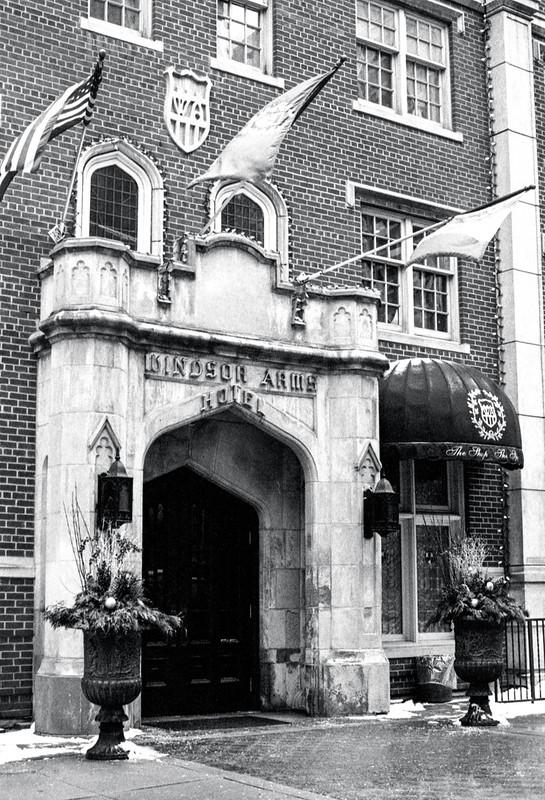 Windsor Arms Entrance Thursday