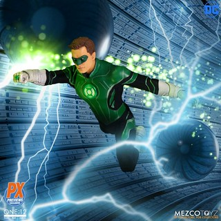 MEZCO ONE:12 COLLECTIVE 系列 DC Comics【綠光戰警 哈爾·喬丹】Green Lantern Hal Jordan 1/12 比例人偶作品【PREVIEWS 限定】