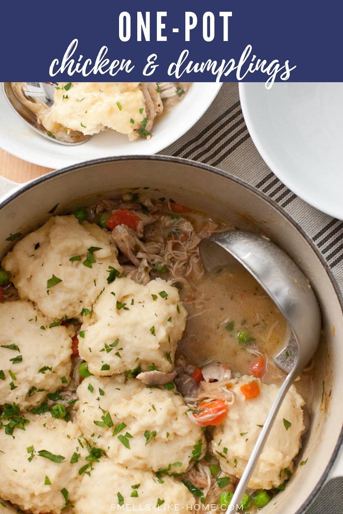 One-Pot Chicken and Dumplings