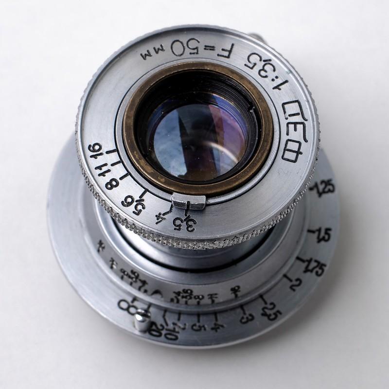 FED 50mm F3.5 Leits Elmar copy.