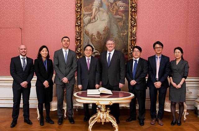 19.03 Ambassador of the Republic of Korea to visit IIASA
