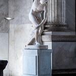 Discobolo (II secolo d.C.), proveniente da Villa Adriana a Tivoli: copia romana da un originale bronzeo che Mirone eseguì intorno al 560 - 550 a.C. - https://www.flickr.com/people/8012426@N05/