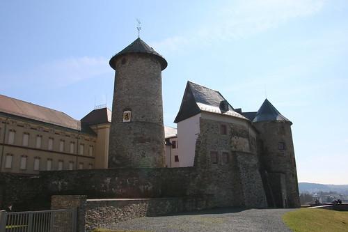 Deutschland, Vogtland, Oelsnitz/V, Burg Voigtsburg