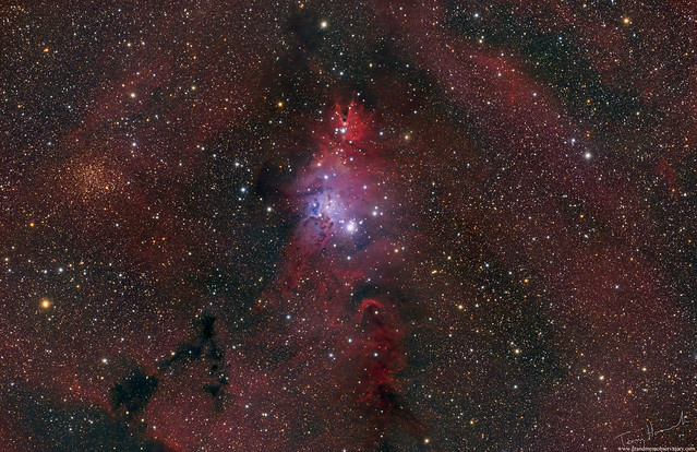 Christmas Tree, Cone and Fox Fur NGC 2264 (RGB Version)