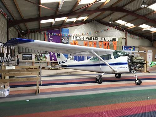 EI-CDP, Cessna 182 (18258955), Clonbullogue 24th March 2019