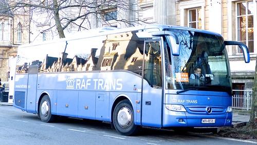WN 4858J 'RAF TRANS'. Mercedes-Benz Tourismo on Dennis Basford's railsroadsrunways.blogspot.co.uk'