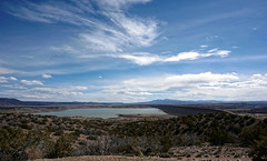 Cochiti Lake in winter
