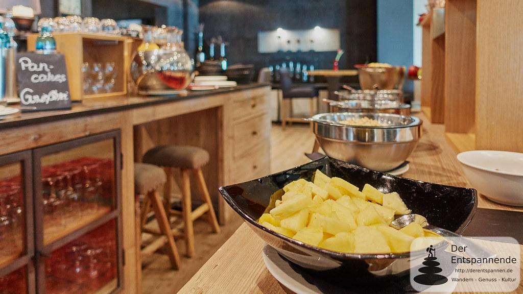 Frühstücksbuffet im Nägler's Fine Lounge Hotel
