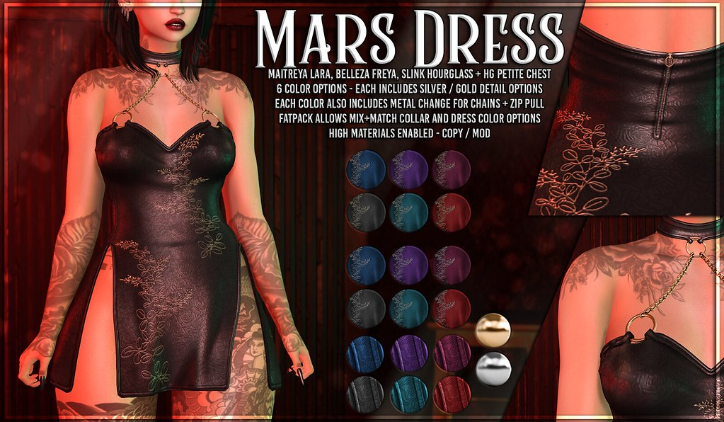 AsteroidBox. Mars Dress @ Kustom9