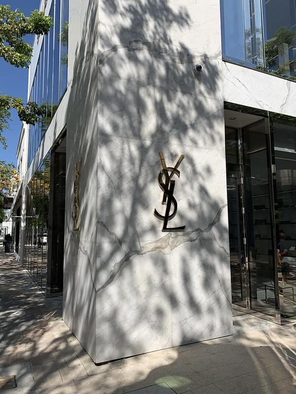 Yves San Laurent Miami Design District