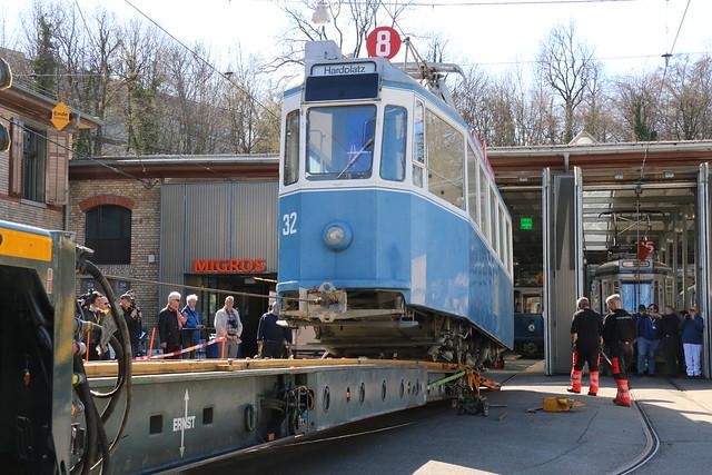 2018-03-28, Zürich, Tram Museum Burgwies