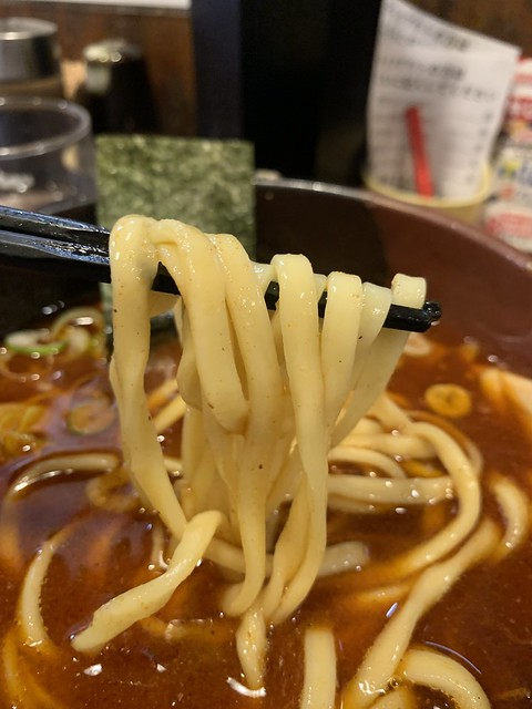 Photo:tsukemen (large, spicy) at takeya, chitose karasuyama By nakashi