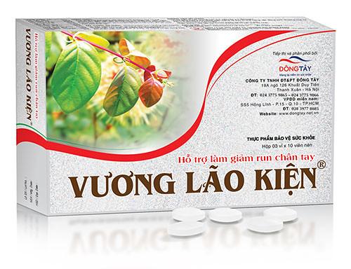 Thực phẩm bảo vệ sức khỏe Vương Lão Kiện giúp làm giảm run tay chân