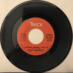 ISLEY BROTHERS:SUMMER BREEZE(RECORD SIDE-B)