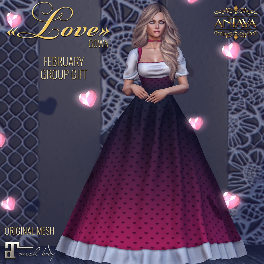 """Gift """"Love"""" gown - TeleportHub.com Live!"""