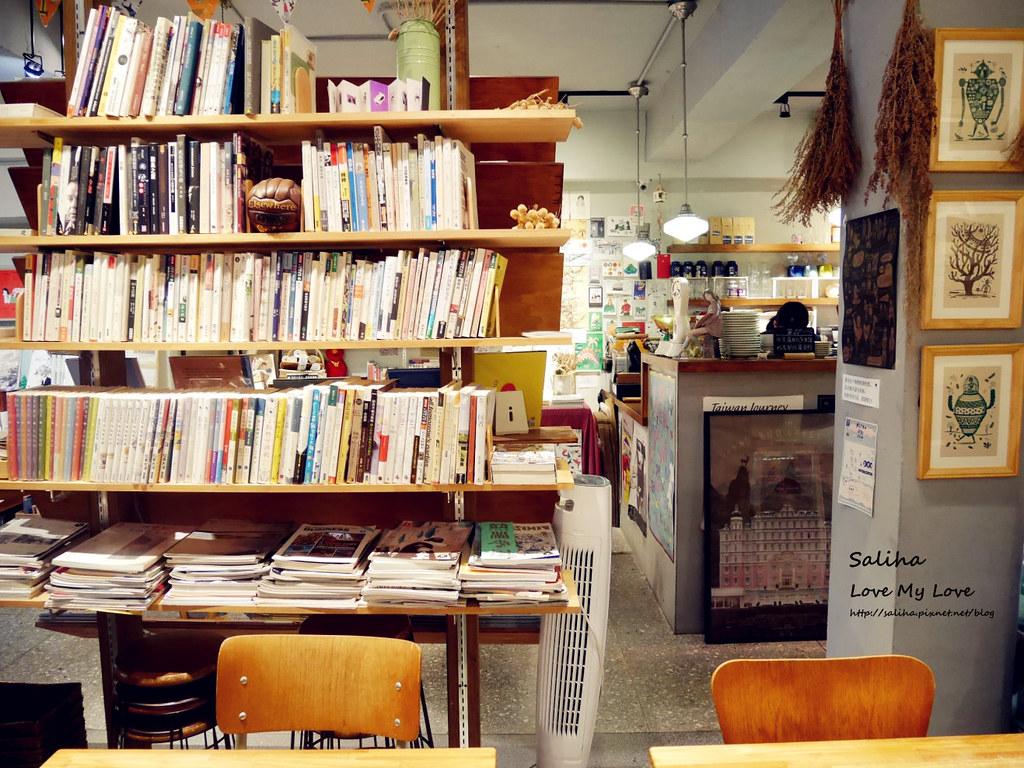 台北中正紀念堂古亭站附近不限時文青風閱讀看書繪本咖啡廳生活在他方 (5)