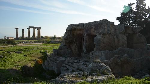 0739 Corinto fontana di Glauke