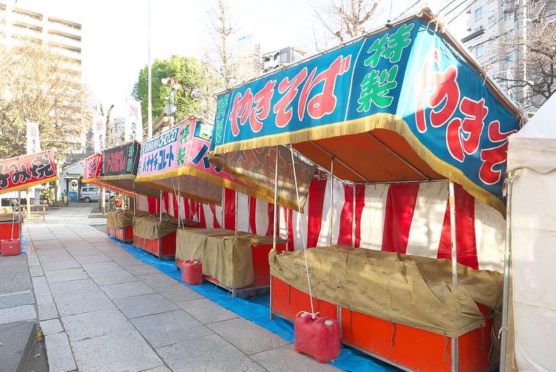 素盞雄神社 初詣の準備