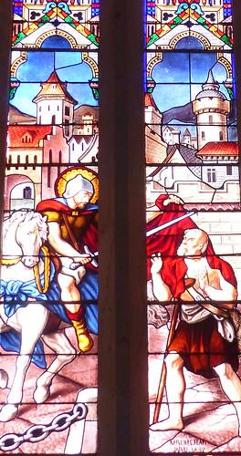 Saint Martin-de-Hinx: église Saint Martin