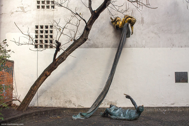 Il Carl Lutz Memorial, quartiere ebraico di Budapest
