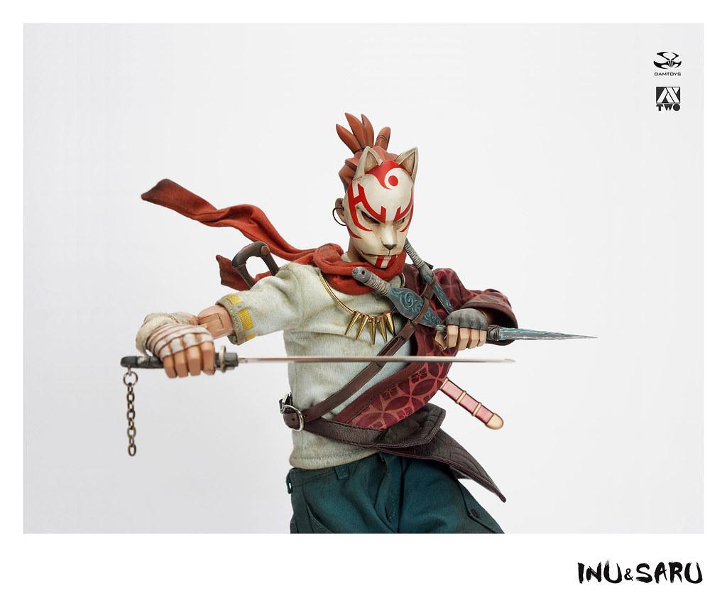 喜歡收集對手武器的犬族任俠! Damtoys × Ax2 Limited《犬與猿》任俠 - 清次 INU & SARU Ninkyo - Seiji 1/6 比例人偶作品