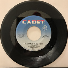 THE DELLS:O-O, I LOVE YOU(RECORD SIDE-B)