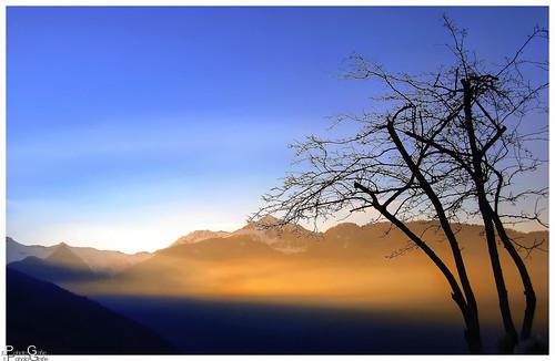 Ein neuer Tag beginnt / A new day is starting