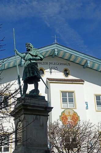 2019-03-17 Sylvensteinsee, Bad Tölz 040 Bad Tölz, Marktstraße, Tölzer Pflegerhaus