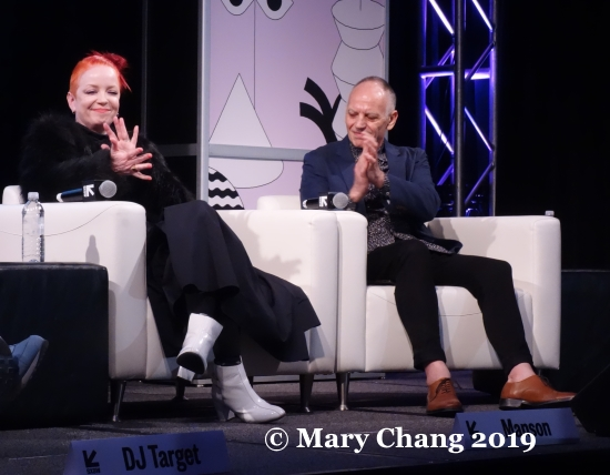 Shirley Manson and Richard James Burgess Friday SXSW 2019