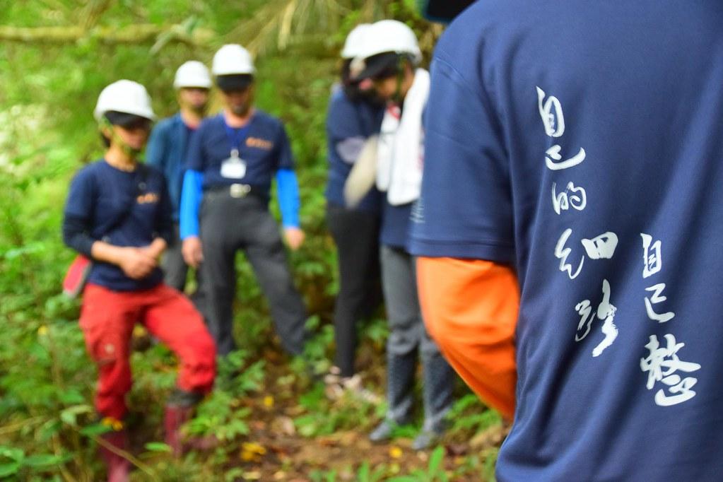 客委會、新竹林管處合作,偕同千里步道協會招募志工,逐步修整古道。圖片來源:千里步道協會。