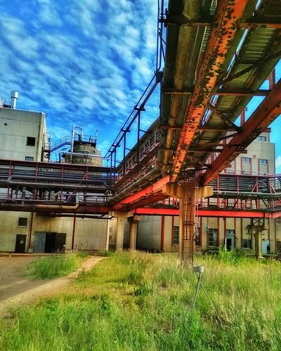 Industrial summer.