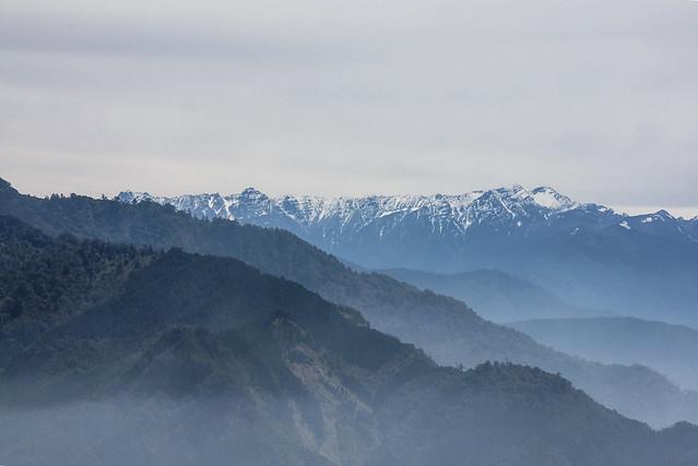 加里山山頂展望--聖稜線 1