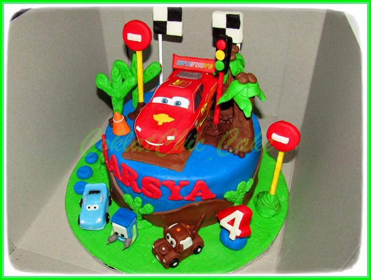 Cake Disney Cars HARSYA 18 cm