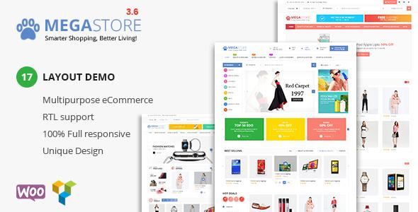 Mega Store v3.7 - Super Market RTL Responsive Theme