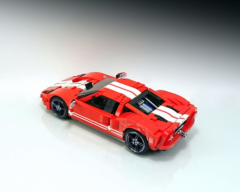 Technic moc 20825 ford gt by firas_legocars mocbrickland