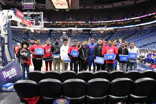 2018-19 Groups -- January 23, 2019 vs. Detroit Pistons