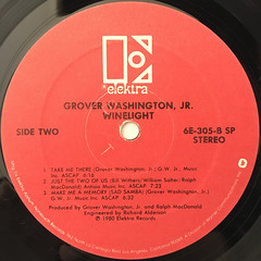 GROVER WASHINGTON, JR.:WINELIGHT(LABEL SIDE-B)