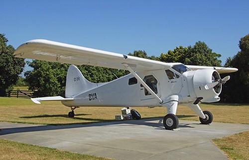 DH Beaver ZK-BVA at Gisborne RHS