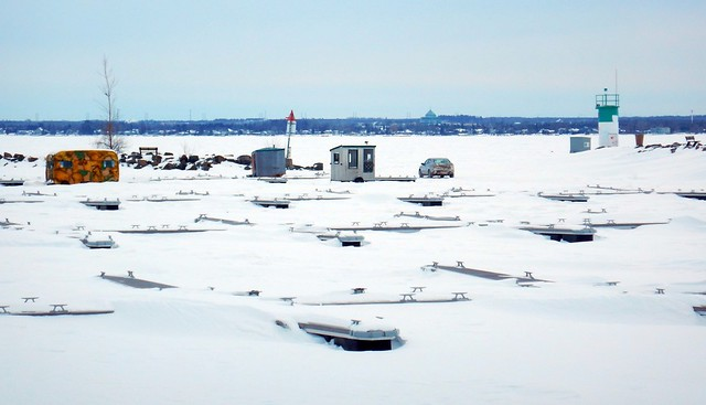 Winter camping Ice fishing, Nikon COOLPIX AW130