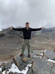 Cerro Chacaltaya (Bridge of Winds) at 5,421 meters (17,785 ft) above sea level, La Paz, Bolivia.