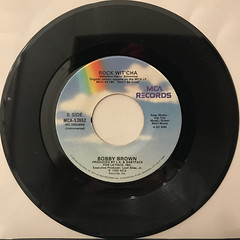 BOBBY BROWN:ROCK WIT' CHA(RECORD SIDE-B)