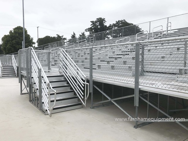 Van Wert City Schools | High School Outdoor Bleacher Replacement