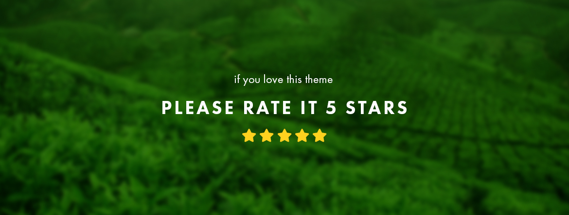 rate this theme 5 stars - Leo Zlin Tea Shop Prestashop theme