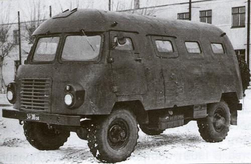 КЗ-1 для шасси ГАЗ-66