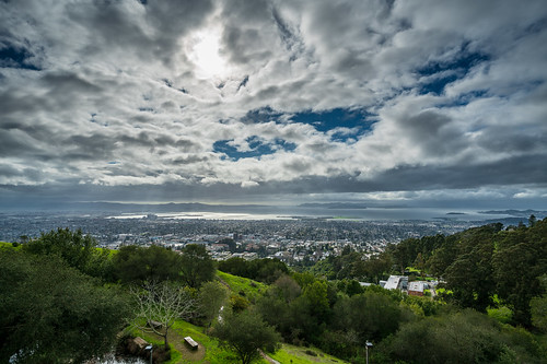 Dramatic Sky Berkeley SF Bay from Lawrence Hall of Science-5