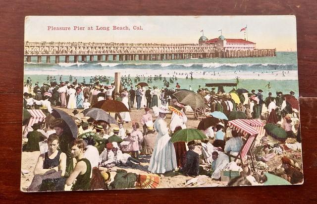 The pier in Long Beach CA