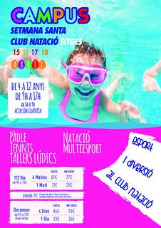 Deporte y diversión en el Club Natació