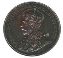 1921 Canadian half Dollar obverse