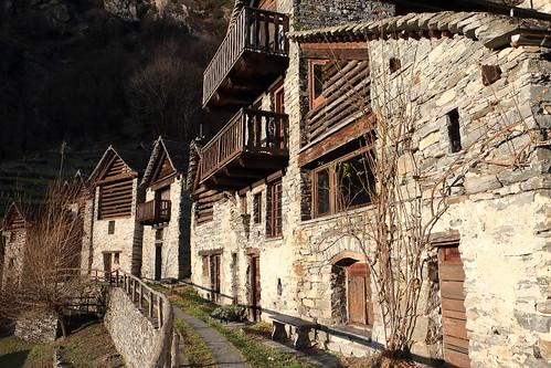 Brontallo, Val Lavizzara, Valle Maggia. Canton Ticino, Svizzera